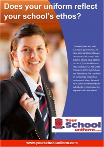 Does your uniform reflect your school's ethos?